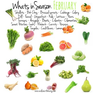 Eat Seasonally all year around